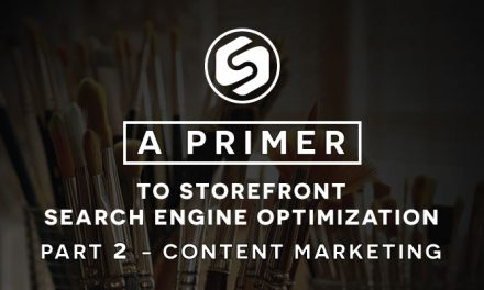 Content Marketing – A Primer to Storefront Search Engine Optimization Part 2