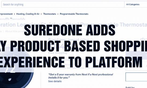 SureDone Adds eBay Product Based Shopping Experience