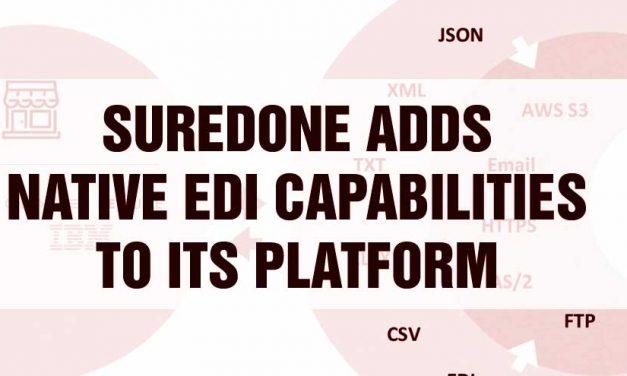 SureDone Adds Native EDI Capabilities