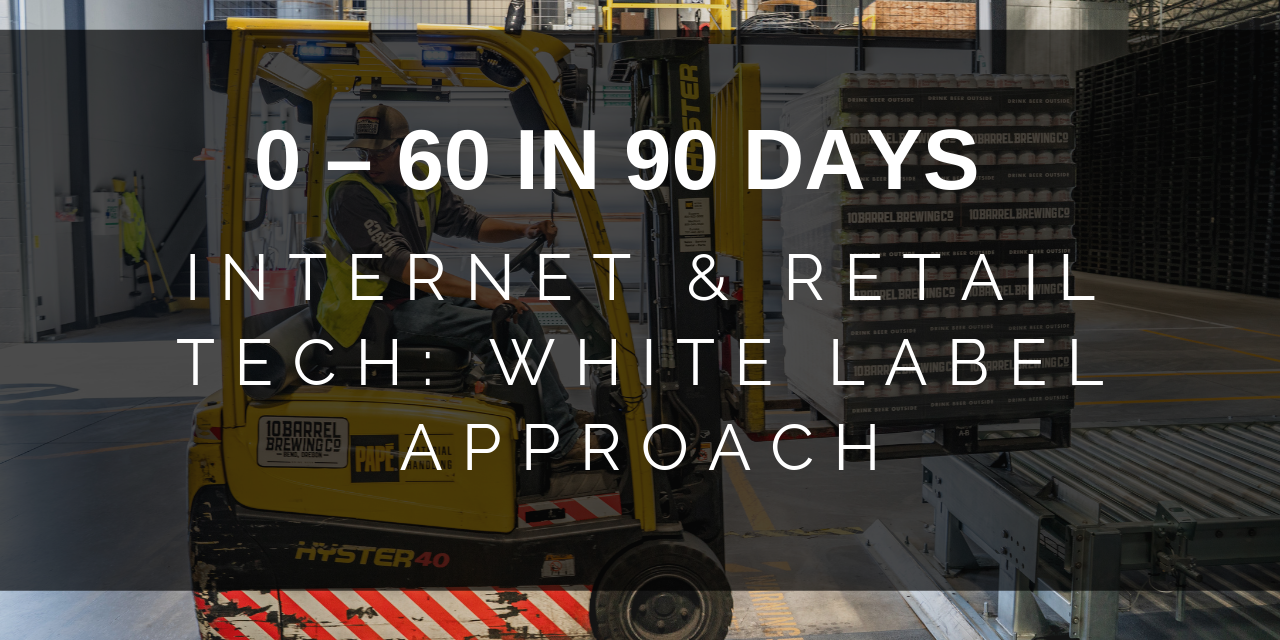 Internet & Retail Technology via the White Label Approach